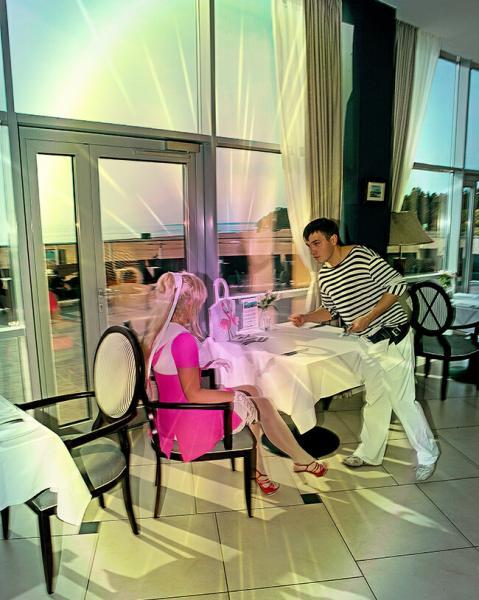 Светлана Шеметилло в ресторане
